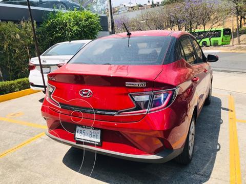Hyundai Grand i10 GL MID Aut usado (2021) color Rojo precio $225,000