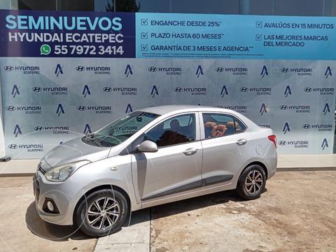 Hyundai Grand i10 GLS usado (2015) color Plata Dorado precio $137,000