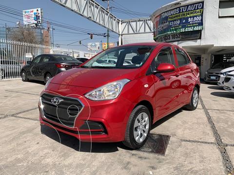 Hyundai Grand i10 GL MID Aut usado (2020) color Rojo precio $189,000