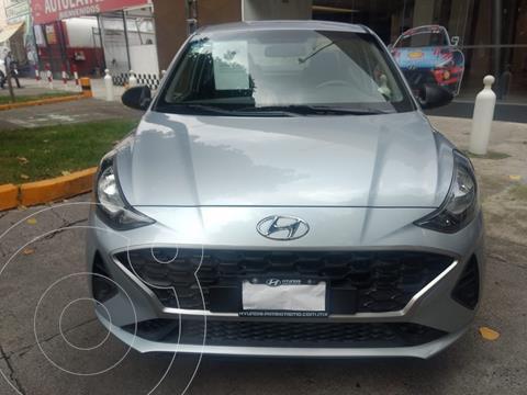 Hyundai Grand i10 GLS usado (2021) color Plata Dorado precio $197,000