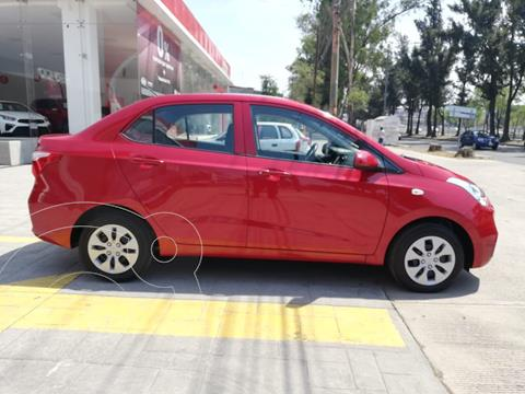 Hyundai Grand i10 GL MID Aut usado (2020) color Rojo precio $185,000