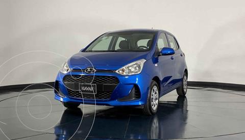 Hyundai Grand i10 GL MID usado (2020) color Azul precio $187,999