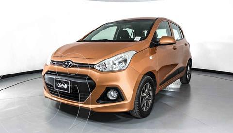Hyundai Grand i10 Version usado (2015) color Naranja precio $134,999