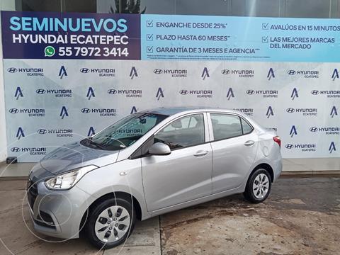Hyundai Grand i10 GL MID Aut usado (2020) color Plata Dorado precio $176,724