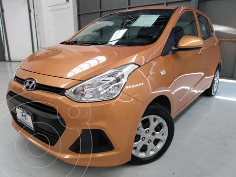 Hyundai Grand i10 GL MID usado (2016) color Naranja precio $139,000