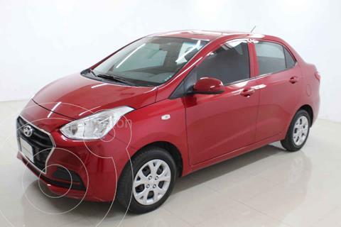 Hyundai Grand i10 GL MID usado (2020) color Rojo precio $190,000
