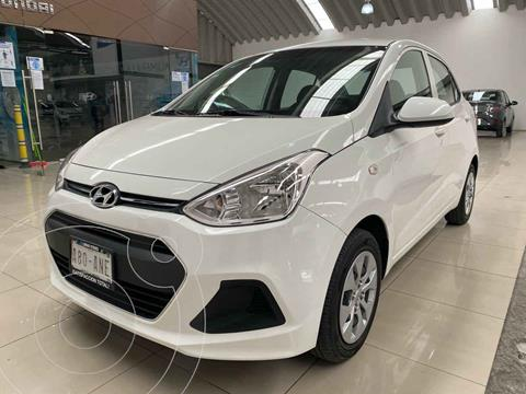 foto Hyundai Grand i10 GL MID Aut usado (2017) color Blanco precio $165,000
