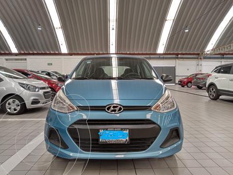 Hyundai Grand i10 GL MID usado (2015) color Azul Claro precio $108,500