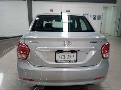 Hyundai Grand i10 GL usado (2017) color Plata precio $140,000