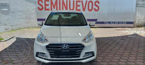 Hyundai Grand i10 GLS usado (2018) color Blanco precio $195,000