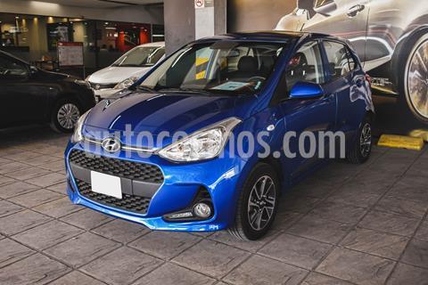 Hyundai Grand i10 GLS usado (2020) color Azul precio $205,000