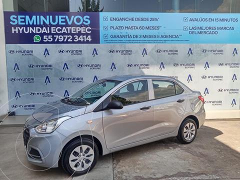 Hyundai Grand i10 GLS usado (2020) color Plata Dorado precio $180,000