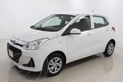 Hyundai Grand i10 GL MID usado (2018) color Blanco precio $153,000