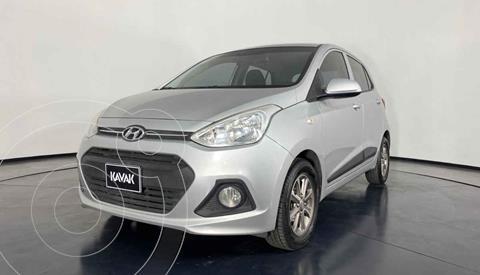 Hyundai Grand i10 Version usado (2015) color Plata precio $124,999