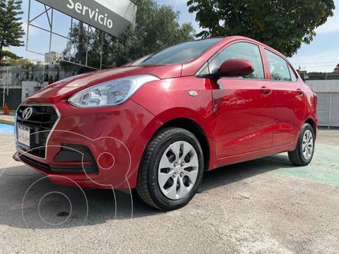 Hyundai Grand i10 GL MID Aut usado (2019) color Rojo precio $189,000