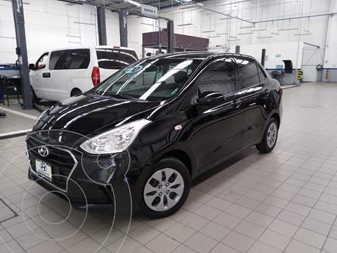 Hyundai Grand i10 GL MID usado (2020) color Negro precio $195,000