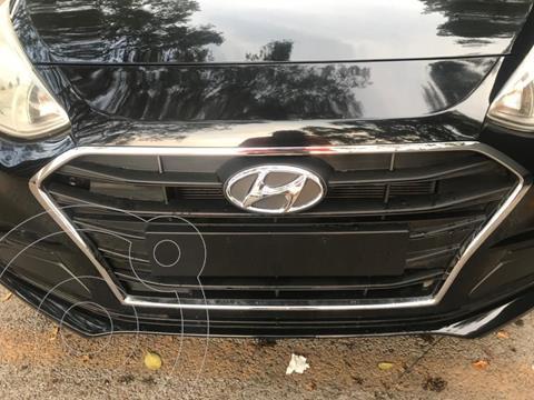 Hyundai Grand i10 GL MID Aut usado (2020) color Negro precio $183,000