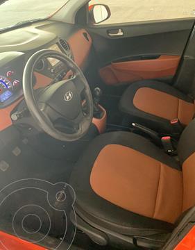 Hyundai Grand i10 GLS Aut usado (2019) color Naranja precio $195,000