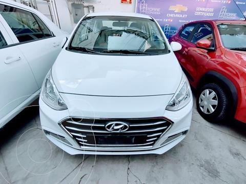 Hyundai Grand i10 GLS Aut usado (2019) color Blanco precio $179,500