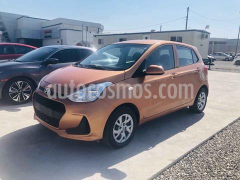 Hyundai Grand i10 GL MID usado (2018) color Naranja precio $149,000