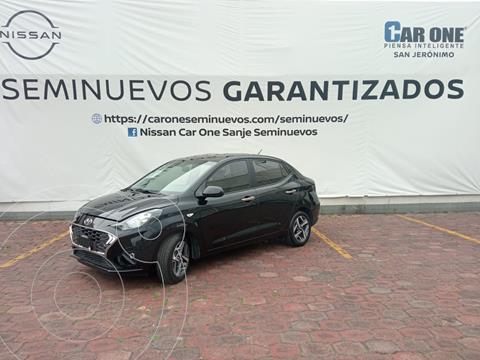 Hyundai Grand i10 GLS Aut usado (2021) color Negro precio $249,000
