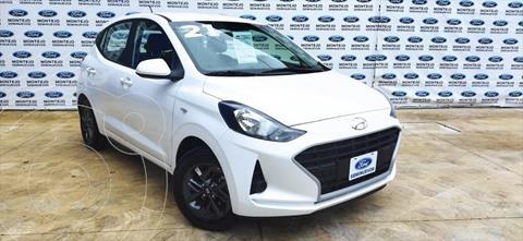 Hyundai Grand i10 GL MID TM usado (2021) color Blanco precio $212,000