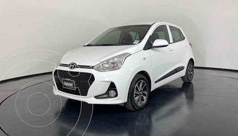 Hyundai Grand i10 GLS Aut usado (2020) color Blanco precio $212,999