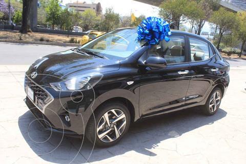 Hyundai Grand i10 GLS Aut usado (2021) color Negro precio $263,900