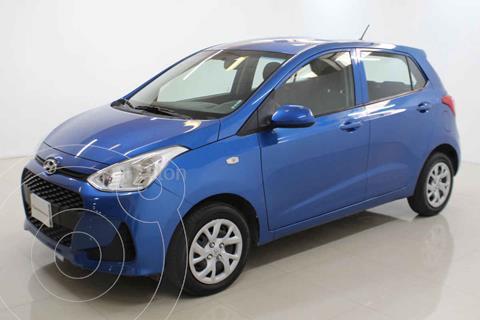 Hyundai Grand i10 GL MID usado (2020) color Azul precio $185,000