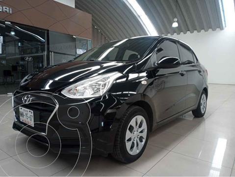 Hyundai Grand i10 GL MID Aut usado (2018) color Negro precio $167,000