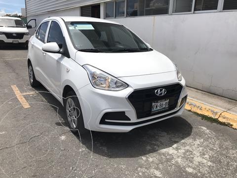 Hyundai Grand i10 GL MID Aut usado (2019) color Blanco precio $175,000