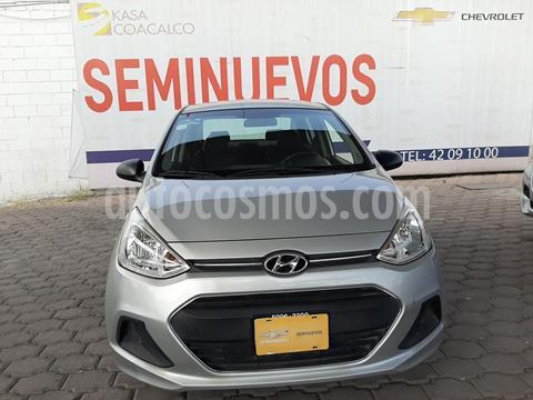 Hyundai Grand i10 GL MID usado (2016) color Plata Dorado precio $143,000