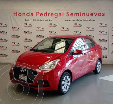 Hyundai Grand i10 GL usado (2020) color Rojo precio $205,000
