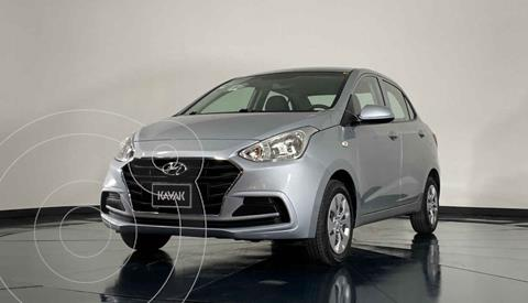 Hyundai Grand i10 GL MID Aut usado (2020) color Plata precio $214,999