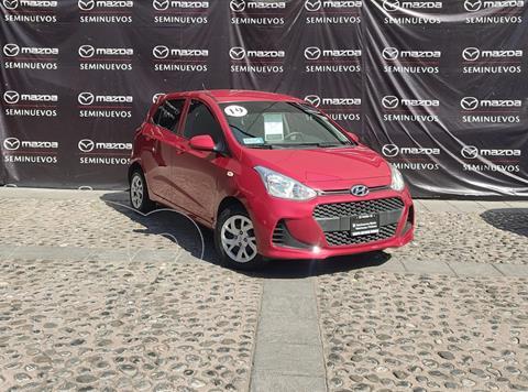 Hyundai Grand i10 GL MID Aut usado (2019) color Rojo precio $195,000