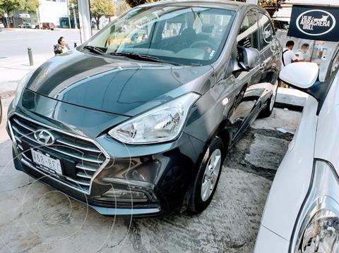 Hyundai Grand i10 GLS usado (2020) color Gris precio $209,500