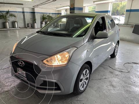 Hyundai Grand i10 GL MID Aut usado (2020) color Plata Dorado precio $200,000