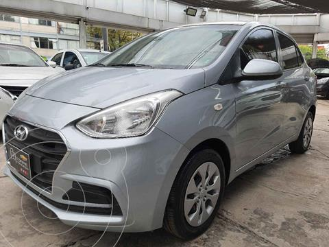 Hyundai Grand i10 GL MID Aut usado (2020) color Plata precio $183,900
