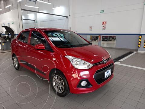 Hyundai Grand i10 GLS Aut usado (2017) color Rojo precio $155,000