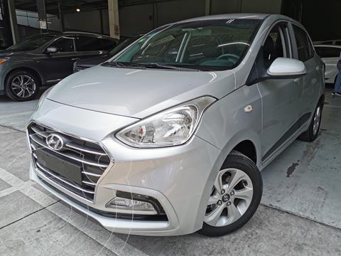 Hyundai Grand i10 GLS usado (2018) color Plata precio $195,000