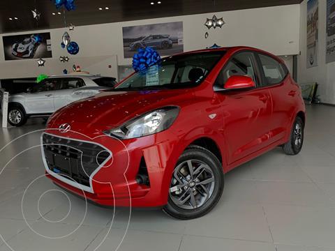 Hyundai Grand i10 GL MID usado (2021) color Rojo precio $219,900