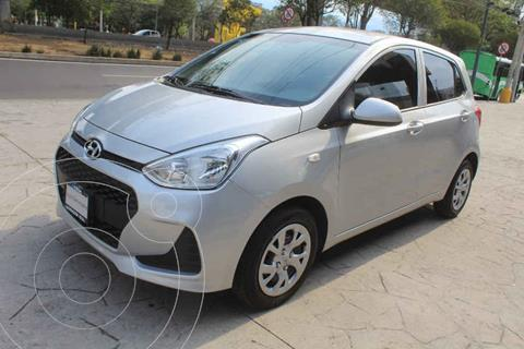 Hyundai Grand i10 Version usado (2019) color Plata precio $185,000