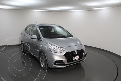 Hyundai Grand i10 GL MID Aut usado (2020) color Plata Dorado precio $194,500