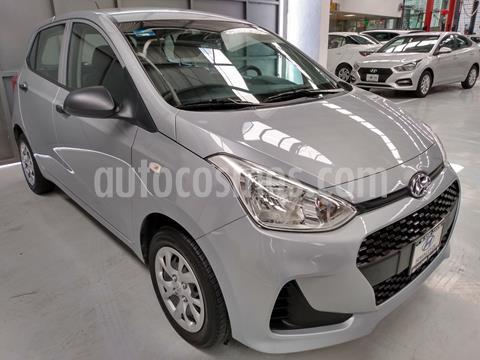 Hyundai Grand i10 GL MID usado (2020) color Plata Dorado precio $179,900
