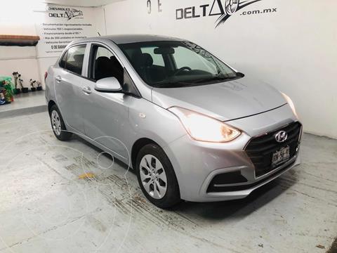 Hyundai Grand i10 GL MID Aut usado (2020) color Plata Dorado precio $189,000