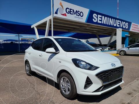 Hyundai Grand i10 GL MID TA usado (2021) color Blanco precio $230,000