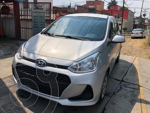 Hyundai Grand i10 GL MID usado (2018) color Plata precio $137,000