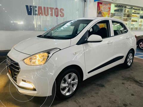 Hyundai Grand i10 GLS Aut usado (2018) color Blanco precio $169,000