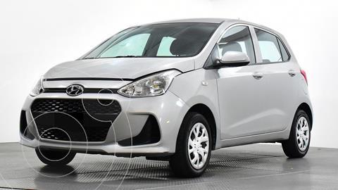 Hyundai Grand i10 GL MID Aut usado (2018) color Plata Dorado precio $136,500
