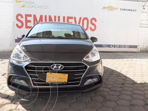 Hyundai Grand i10 GLS usado (2020) color Gris precio $225,000